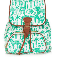 Safari Zoo Backpack - New In This Week  - New In