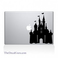 Disney Castle Macbook Decal | Macbook Vinyl Decals | The Decal Guru