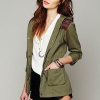Free People Green Parka