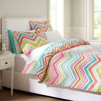 Zig N Zag Duvet Cover + Sham
