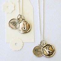 Alphabet + Zodiac Necklace