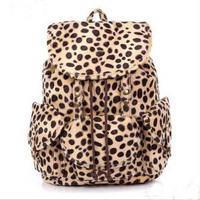 shego shopping mall   Cool Leopard Fashion Backpack Bag
