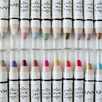 NYX Jumbo Eye Pencil Shadow Liner - ALL 27 Shades with a Free 2 in 1 Pencil Sharpener:Amazon:Beauty