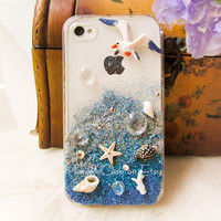 Original Sunset Beach Crystal Bling Bling Case