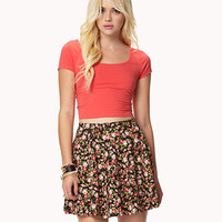 Rosebud Skater Skirt