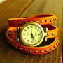 [FREE SHIPPING] Bracelet Orange Watch