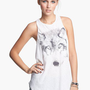 Lush Graphic High/Low Tank (Juniors) | Nordstrom