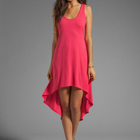 Blue Life Criss Cross Back High Low Dress in Rose from REVOLVEclothing.com