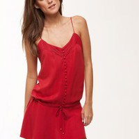 Joy Short Dress - Red - Dresses & Coverups