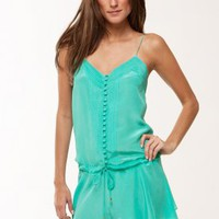Joy Short Dress - Mint - Dresses & Coverups