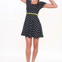 Zoey Polka Dot Dress - CALICO