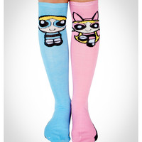 Power Puff Girls Mix and Match Knee High Socks