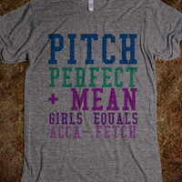Pitch Perfect Mean Girls - Huh-lurr-ee-us - Skreened T-shirts, Organic Shirts, Hoodies, Kids Tees, Baby One-Pieces and Tote Bags