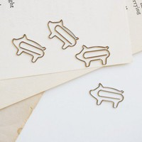 This Little Piggy Paper Clips