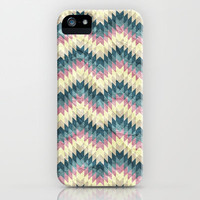 Speckled Chevron iPhone & iPod Case by Belle13