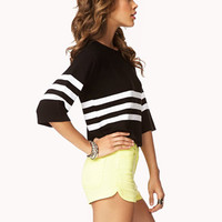 Boxy Striped Sweater