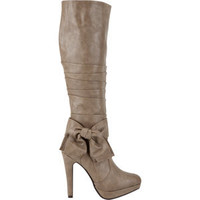 ANNE MICHELLE Motive Large Bow Womens Boots 191797413 | shoes | Tillys.com