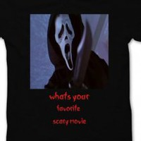 whats your favorite scary movie scream shirt