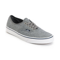 Vans Authentic Pewter Denim Shoe