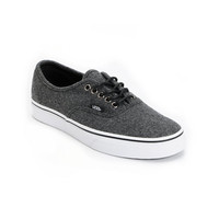 Vans Authentic Dark Grey Wool Shoe