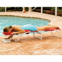 The Ergonomic Beach Lounger - Hammacher Schlemmer