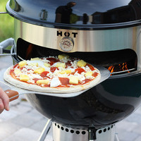 KettlePizza - Turns a Kettle Grill Into an Outdoor Pizza Oven