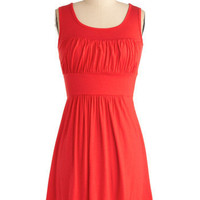 Simplicity Party Dress in Orange | Mod Retro Vintage Dresses | ModCloth.com