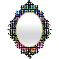 DENY Designs Home Accessories | Lisa Argyropoulos Dot Matrix Baroque Mirror