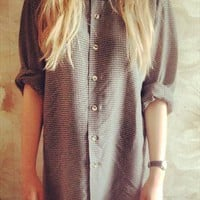 Oversized vintage shirt from Fashion-kitty