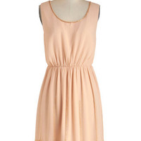 Laguna Peach Dress | Mod Retro Vintage Dresses | ModCloth.com
