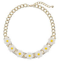 Daisy Chunky Chain Necklace
