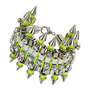 Premium Rhinestone Spike Bracelet