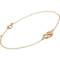 Bianca Pratt Gold Pretzel Bracelet at Barneys.com