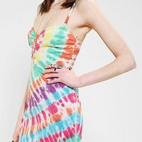 OBEY Trouble Maker Tie-Dye Bodycon Dress