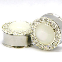 Diamond Wedding Plugs
