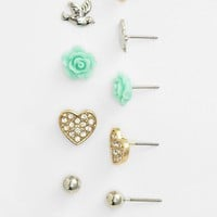 Carole Stud Earrings (Set of 6) | Nordstrom