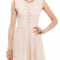 Lace Flare Dress