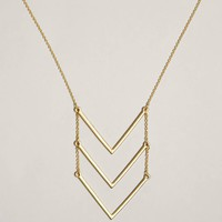 AEO Triple V Necklace | American Eagle Outfitters