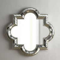 Quatrefoil Mirror