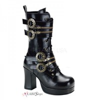 Gothika Steampunk Womens Boot PL-GOTHIKA-100 by Demonia by Pleaser USA