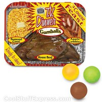 T.V. Dinner Flavored Gumballs