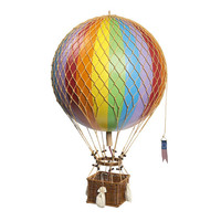 Royal Travels Hot Air Balloon in Rainbow
