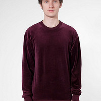 American Apparel - Velour Drop-Shoulder Sweater