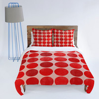 DENY Designs Home Accessories | Garima Dhawan Colorplay Red Duvet Cover