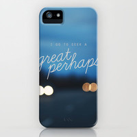 looking for alaska - great perhaps. iPhone & iPod Case by lissalaine