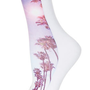 Palm Tree Ankle Socks - Tights & Socks  - Bags & Accessories