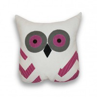 Tootsie Owl Shaped Pillow
