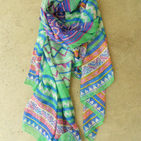 Mineral Creek Scarf [3793] - $14.40 : Vintage Inspired Clothing &amp; Affordable Summer Frocks, deloom | Modern. Vintage. Crafted.