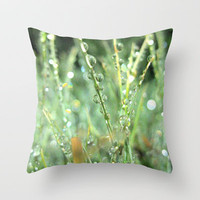Six feet Above Throw Pillow by RichCaspian