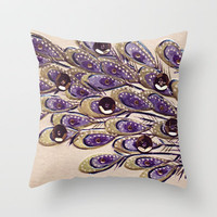 Carnaval Throw Pillow by Irène Sneddon
